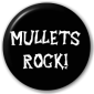 Button Badge: Mullets Rock